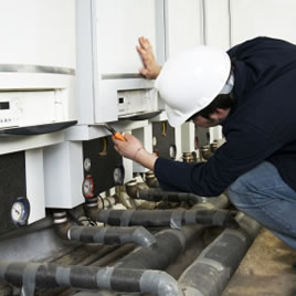 maintaining a heating system